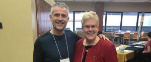 Sergi Lucas y la Dra. Susan L. Whitney
