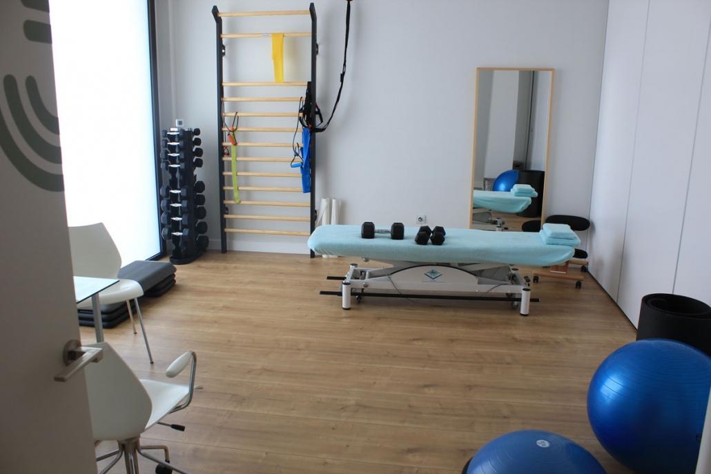 Sala de fisioterapia y osteopatía