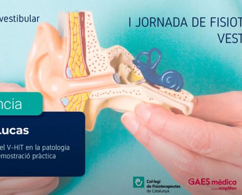 Ilustración de la I jornada de fisioterapia vestibular