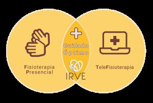 Gráfico Fisioterapia presencial + telefisioterapia